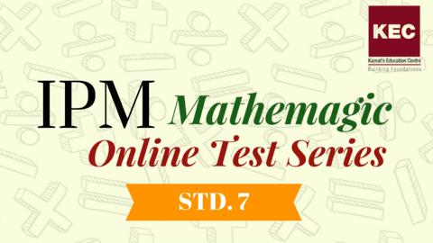 IPM Maths Exam Practice Test Series